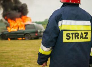 Co robić w przypadku pożaru auta?